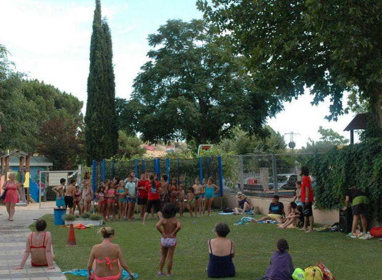 camping con animación en Madrid