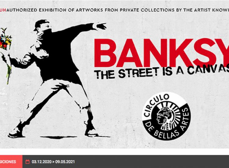 Banksy en Madrid