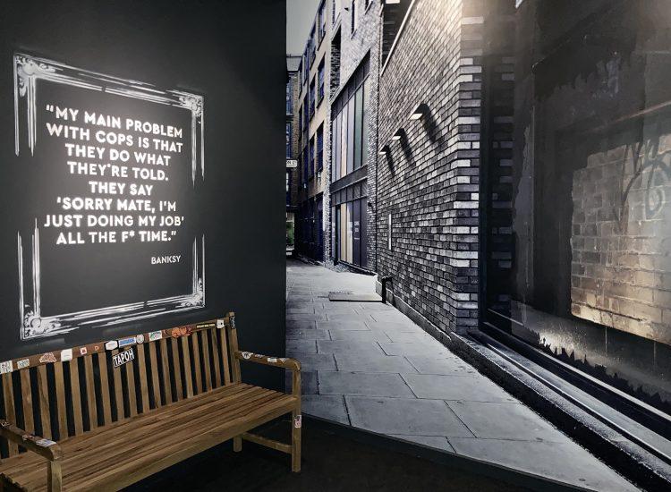 Últimos días para ver la obra de Banksy en Madrid, hasta el 9 de mayo